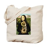 Mona's Border Terrier Tote Bag