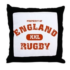 """England Rugby"" Throw Pillow"