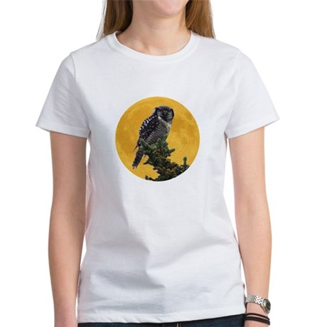Owl and Moon Women's T-Shirt