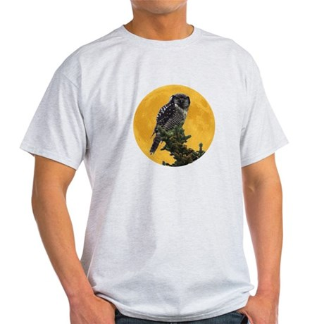 Owl and Moon Light T-Shirt