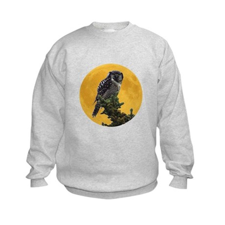 Owl and Moon Kids Sweatshirt