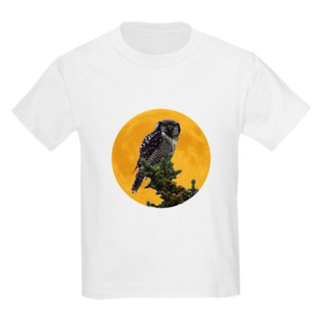 Owl and Moon Kids Light T-Shirt