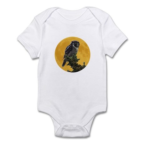 Owl and Moon Infant Bodysuit