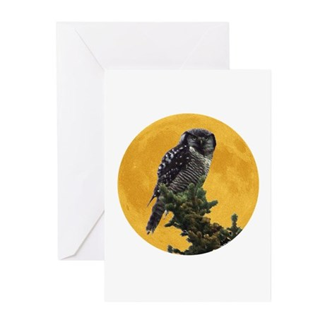 Owl and Moon Greeting Cards (Pk of 10)