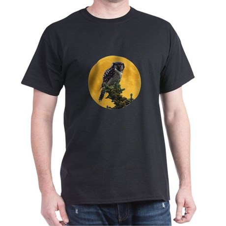 Owl and Moon Dark T-Shirt