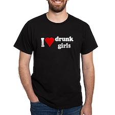 I Love Drunk Girls T-Shirt