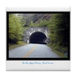 Funny Blue ridge parkway Tile Coaster