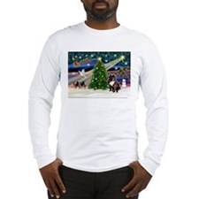XmasMagic/French BD (br) Long Sleeve T-Shirt