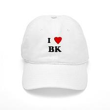 I Love BK Baseball Cap