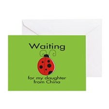 Waiting Parent Greeting Card