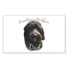 Griffon Dad2 Rectangle Decal