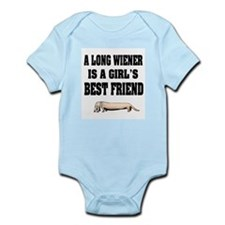 Wiener Friend Dachshund Infant Bodysuit