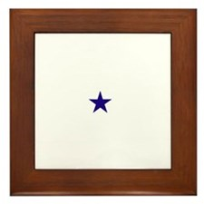 Dallas Star Framed Tile