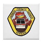 OCTD Police Officer Tile Coaster