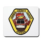 OCTD Police Officer Mousepad