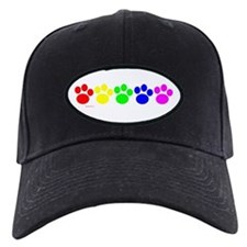 Rainbow Paws Baseball Hat