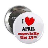"April 13th 2.25"" Button (100 pack)"