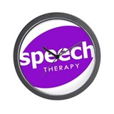Speech Therapy Wall Clock