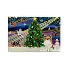 Xmas Magic Papillon (f) Rectangle Magnet (10 pack)