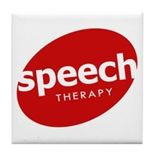 Speech Therapy Tile Coaster
