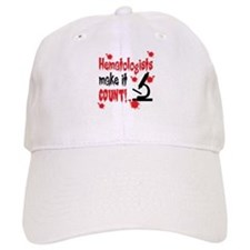 Hematologists Make It Count Baseball Cap