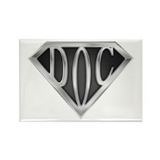 SuperDoc(metal) Rectangle Magnet (10 pack)