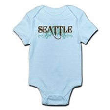 Seattle WA Grunge Infant Bodysuit