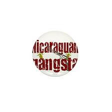 Nicaraguan Gangsta Mini Button