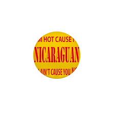 Hot Nicaraguan Mini Button