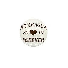Nicaragua Forever Mini Button