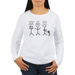 OMGWTFBBQ Women's Long Sleeve T-Shirt