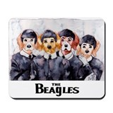 The Beagles Mousepad
