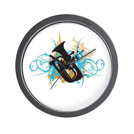 Urban Baritone Wall Clock