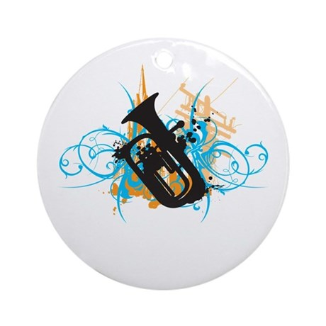 Urban Baritone Ornament (Round)