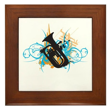 Urban Baritone Framed Tile