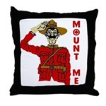 Mount Me Throw Pillow