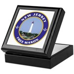 New Jersey Freemason Keepsake Box