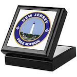 New Jersey Freemason Keepsake Box