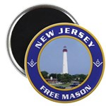 New Jersey Freemason Magnet