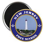 New Jersey Freemason Magnet