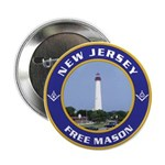 New Jersey Freemason Button