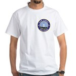 New Jersey Freemason White T-Shirt