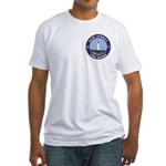 New Jersey Freemason Fitted T-Shirt