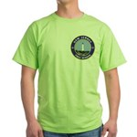 New Jersey Freemason Green T-Shirt