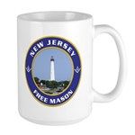 New Jersey Freemason Large Mug