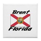 Brent Florida Tile Coaster