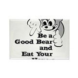 Good bears eat honey Rectangle Magnet (100 pack)