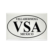 VSA Villahermosa Rectangle Magnet