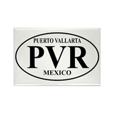 PVR Puerto Vallarta Rectangle Magnet