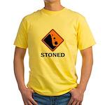 Stoned Yellow T-Shirt